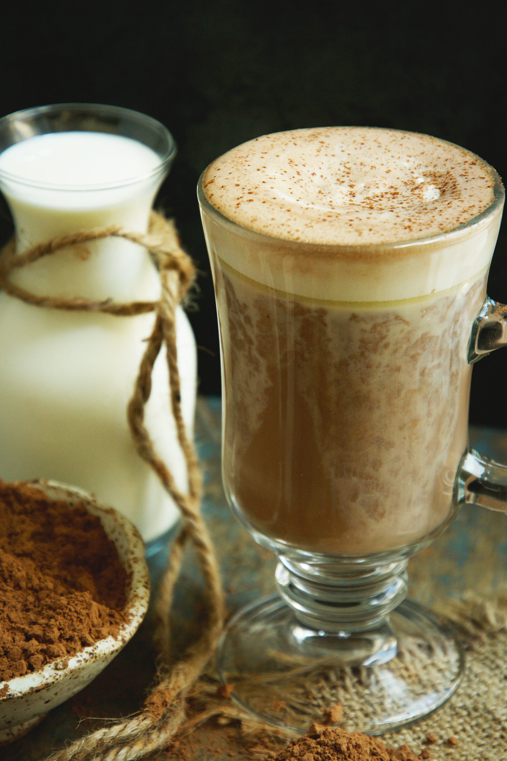 Keto-Friendly Sugar-Free Hot Chocolate Recipe -Topped with whipped Cream