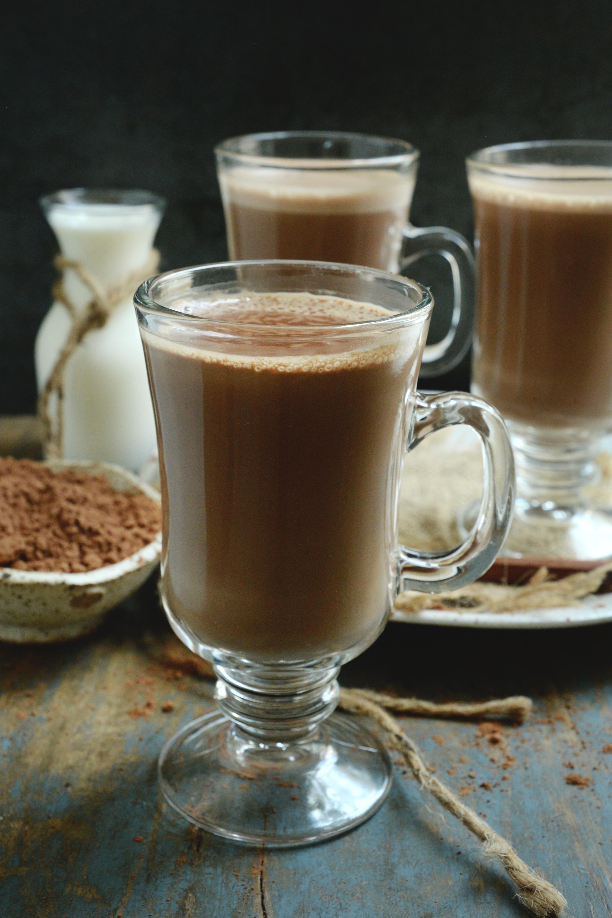 Keto-Friendly Sugar-Free Hot Chocolate Recipe -in a cup