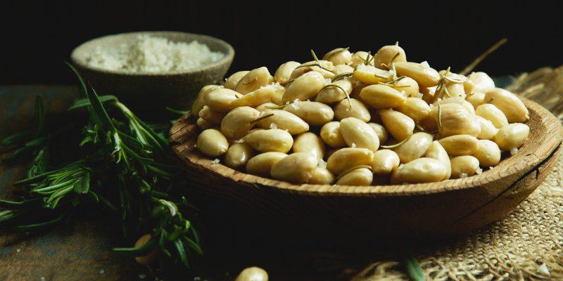 Roasted Rosemary Truffle Almonds