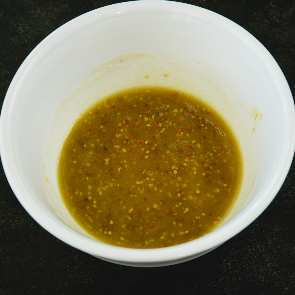 Low-Carb Maple Mustard Vinaigrette-mixed