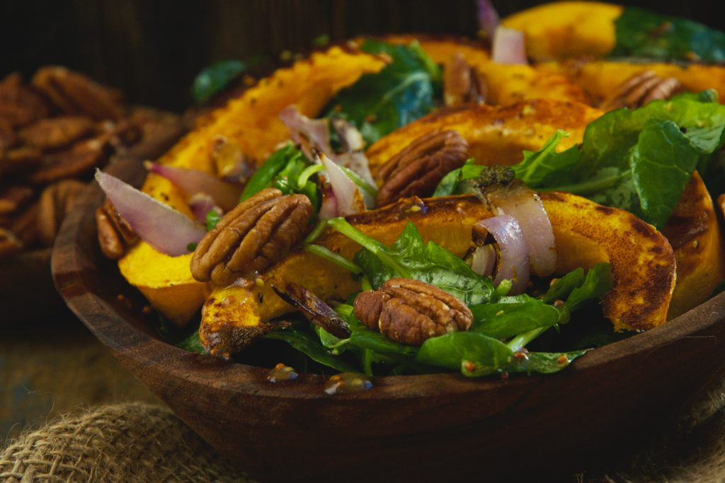 Low-Carb Roasted Pumpkin Salad