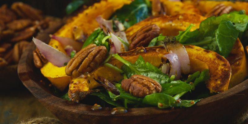 Low-Carb Roasted Pumpkin Salad