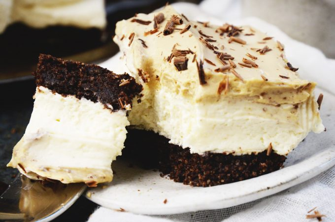 Low-Carb Cappuccino Mousse Cake