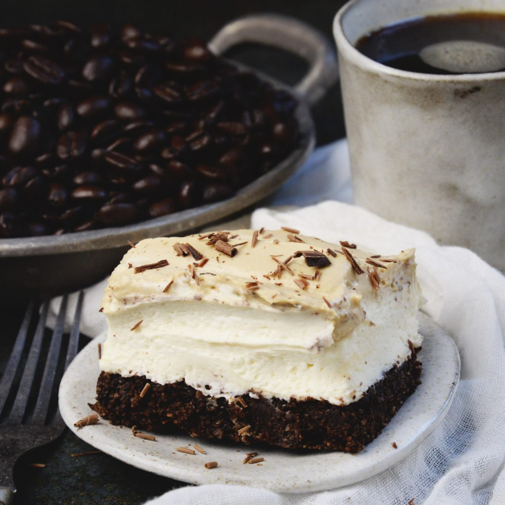 Low-Carb Cappuccino Mousse Cake-Recipe photo