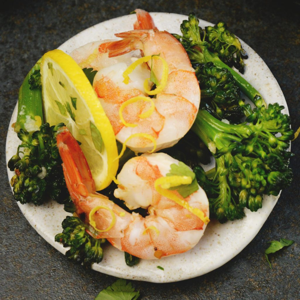 Lemon Garlic Shrimp Sheet Pan Dinner -recipe photo