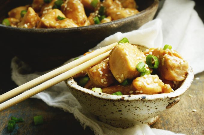 Easy Low-Carb Sesame Chicken Recipe