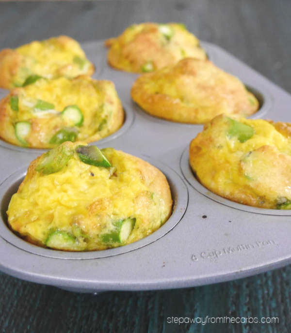 Low-Carb Asparagus Recipes-low-carb-asparagus-egg-bites