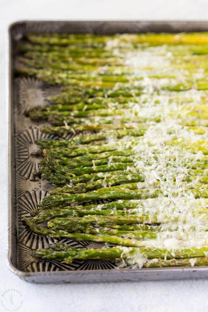 Low-Carb Asparagus Recipes-Parmesan Asparagus