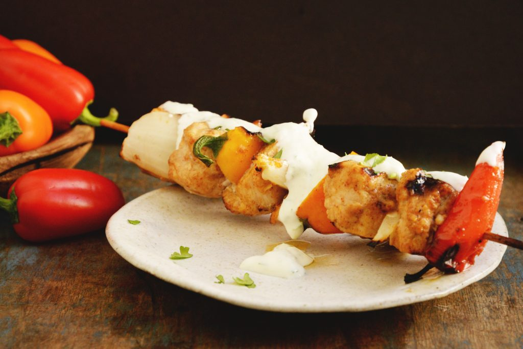 Grilled Fajita Chicken Kabobs Recipe