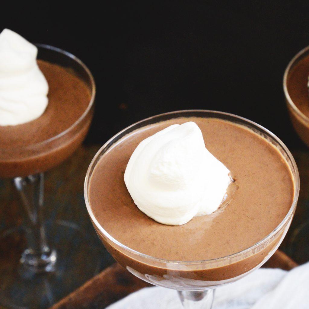 Kohlenhydratarmer Schokoladenpudding Rezept-Übersicht