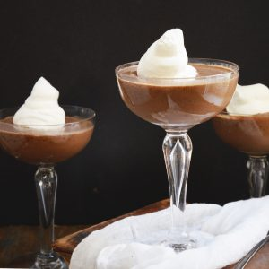 Kohlenhydratarmer Schokoladenpudding Rezept-Rezeptfoto
