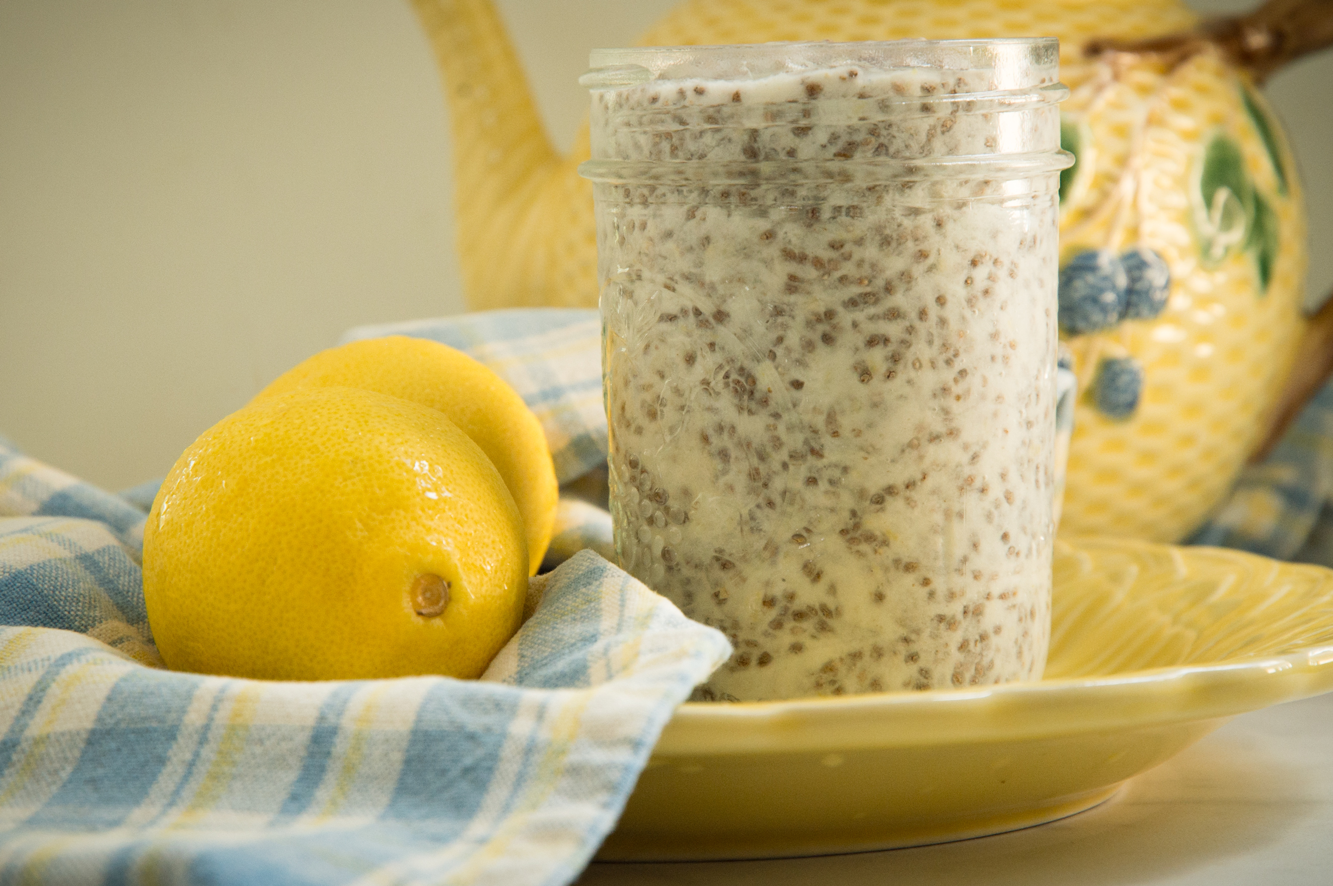 Keto Easy Lemon Chia Pudding Recipe