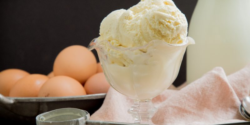 Keto Vanilla Ice Cream Recipe