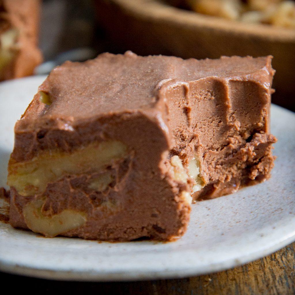 Keto Chocolate Fudge Recipe-Recipe image