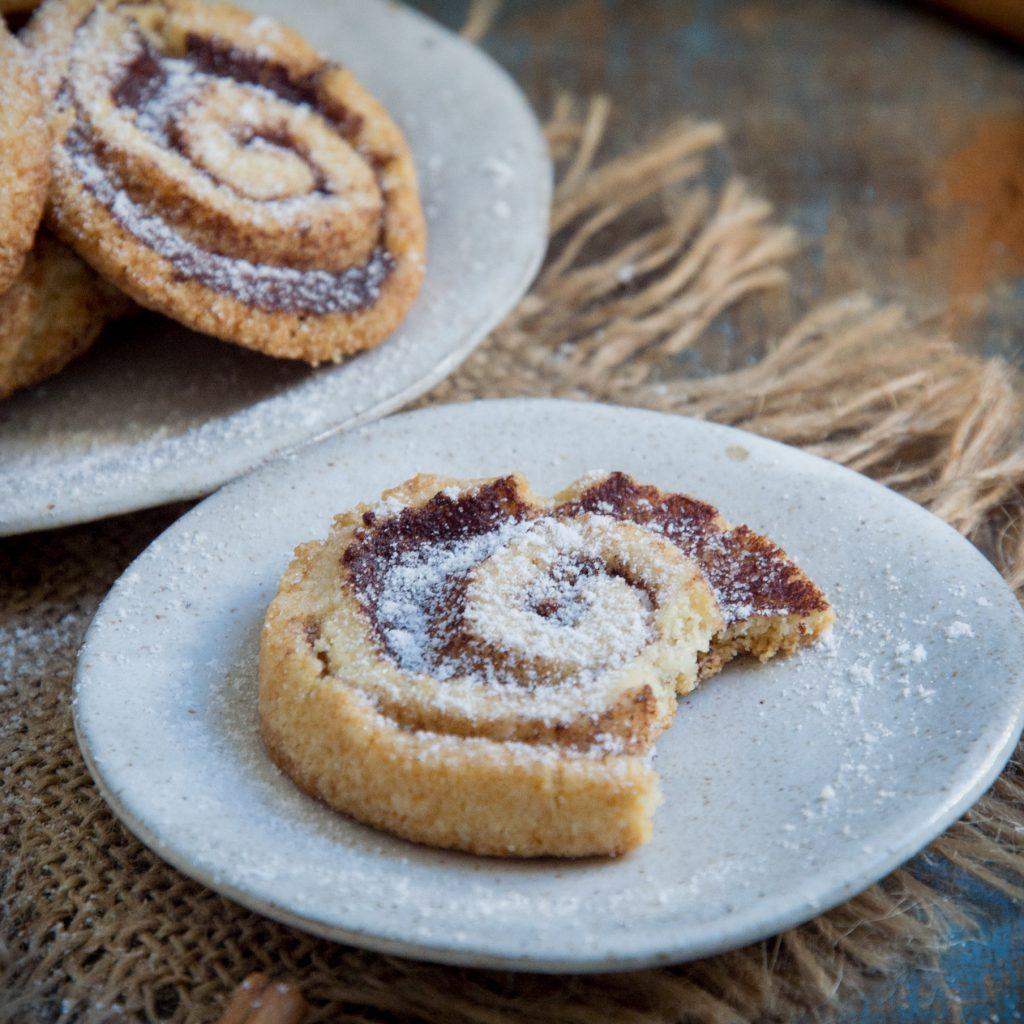 Keto Cinnamon Shortbread Cookies-Recipe Image