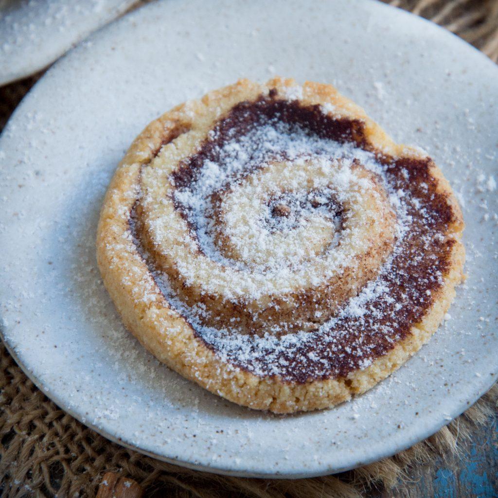 Keto Cinnamon Shortbread Cookies-Sprinkled.