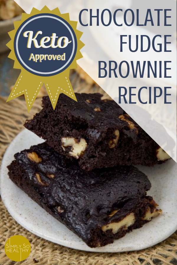 Our recipe for Keto Chocolate Brownies makes the best fudge brownies. Make them with or without nuts! Low-carb, keto, Atkins, and gluten-free diet friendly. #bestketobrownies #ketochocolatebrownies #ketobrownies #lowcarbbrownies #ketodessert