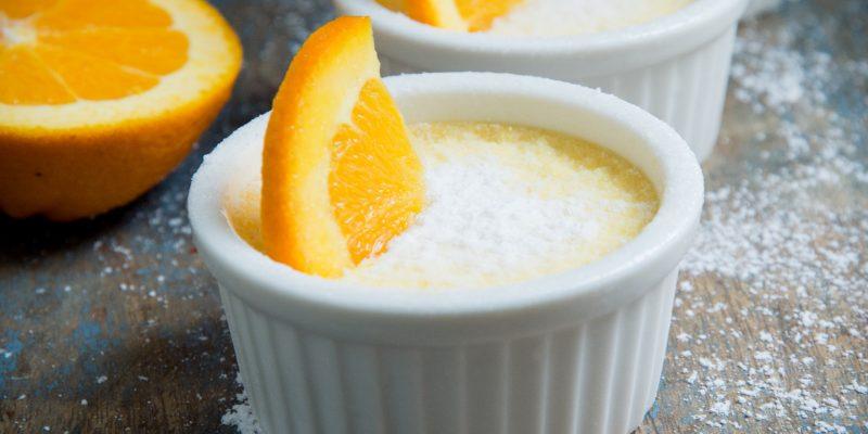 Low-Carb Orange Pots de Crème