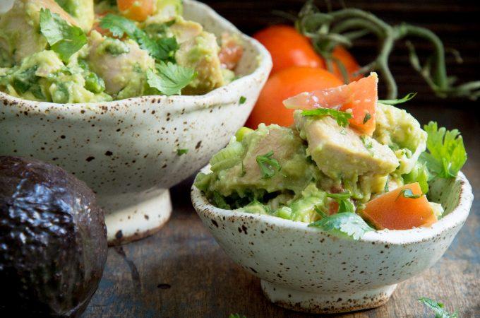 Low-Carb Leftover Turkey (or Chicken) Avocado Salad