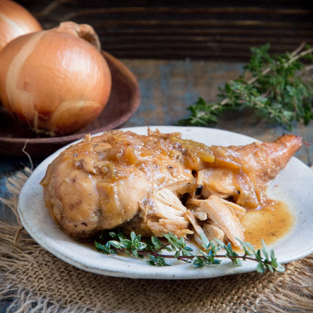 Easy Keto-Friendly Crockpot Chicken-Recipe Image