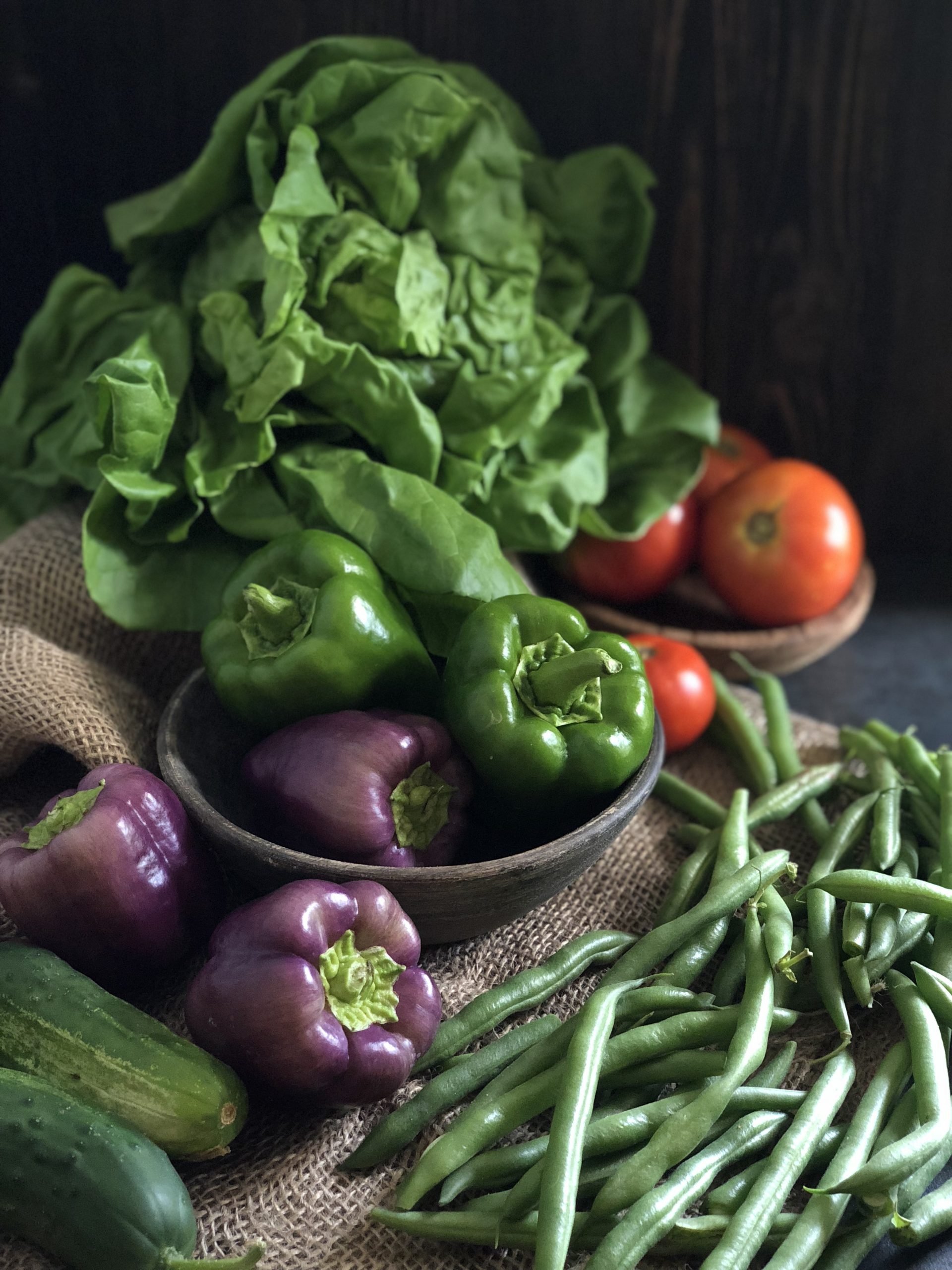Eat a variety of Produce to stay on a low-carb diet.