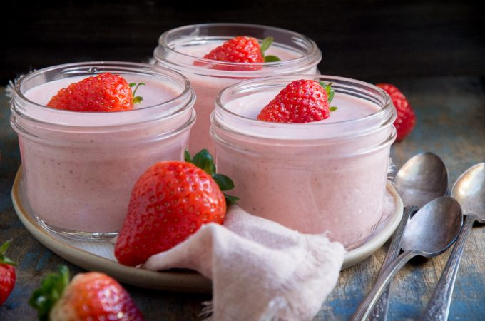 Low-Carb Strawberry Mousse (Keto-Friendly)