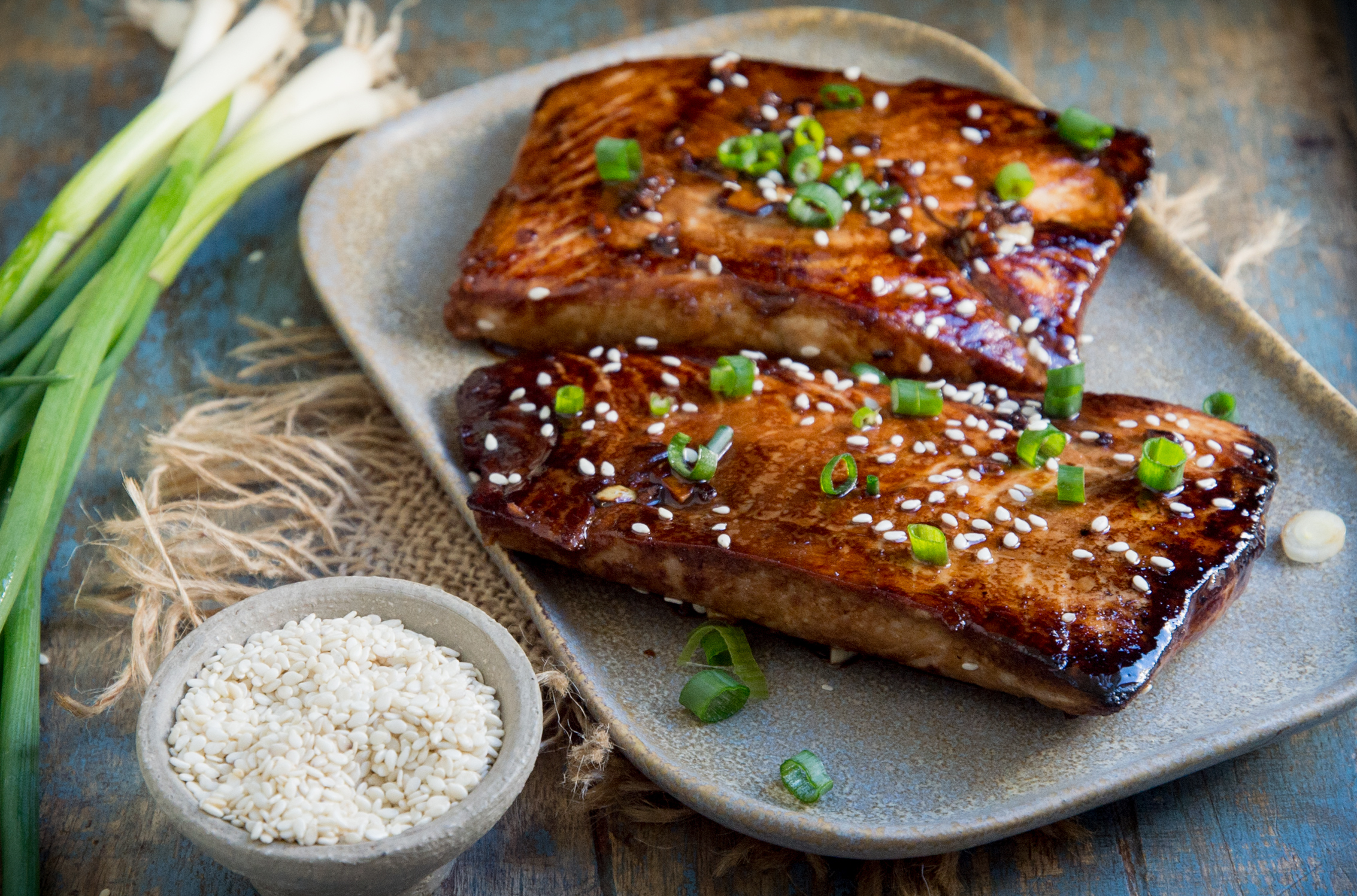 Low-Carb Teriyaki Salmon (Keto-Friendly)