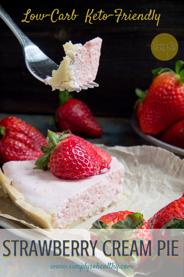 Keto-Strawberry Pie-pin image
