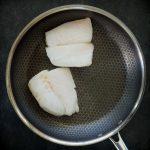Sautéed Fish with Mustard Tarragon Cream Sauce