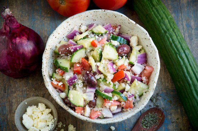Mediterranean Salad (Keto Friendly)