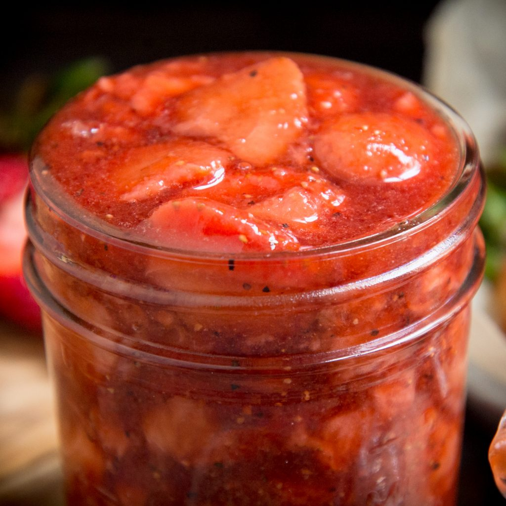 Sugar-Free Strawberry Sauce.