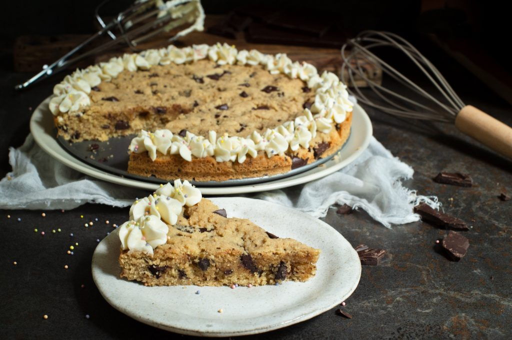 Keto Cookie Cake