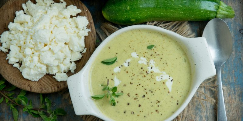Cream of Zucchini Soup (Keto | Low-Carb)