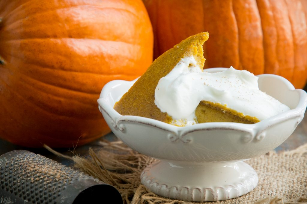 Slow-Cooker Low-Carb Pumpkin Custard (Keto)