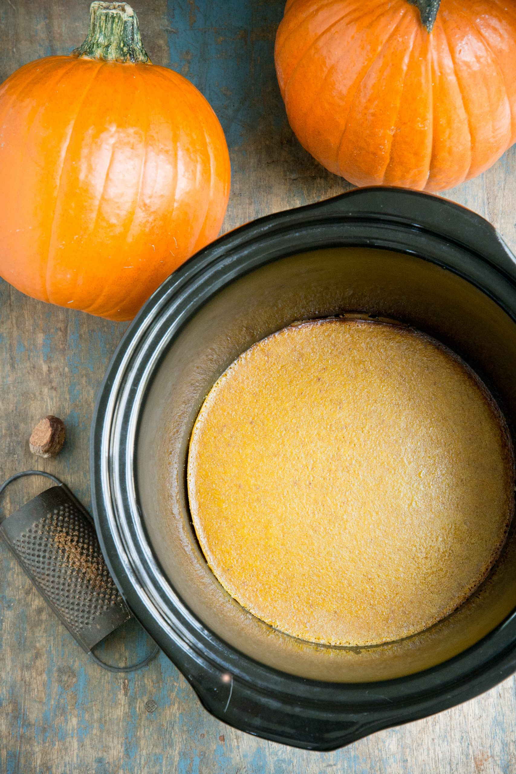 Pumpkin Custard in the Crock Pot