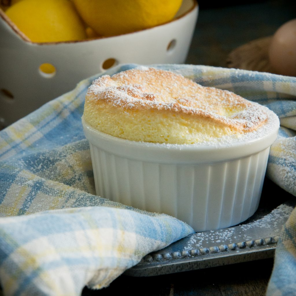 Single Lemon Soufflé