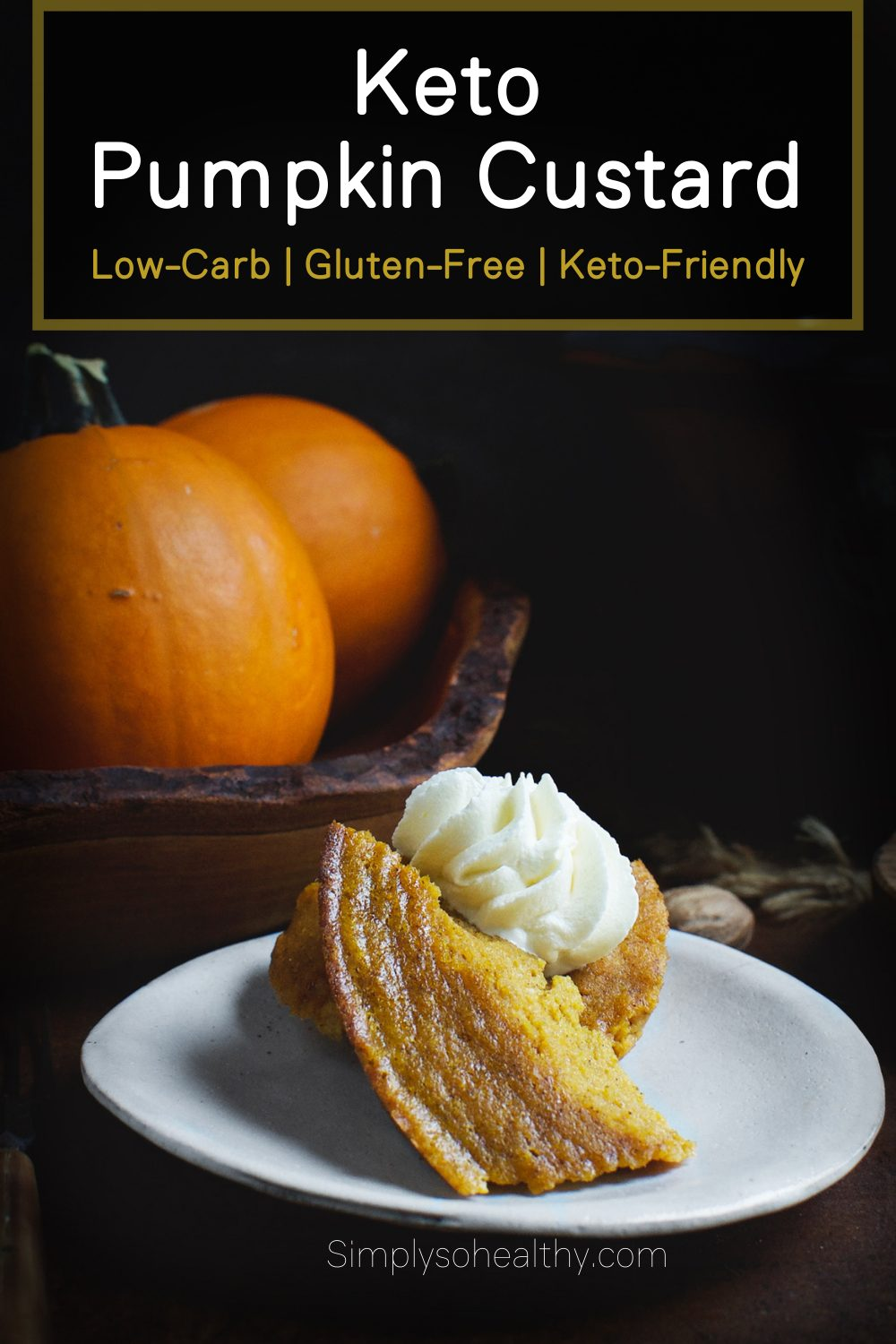 Pin Image for Pumpkin Custard.