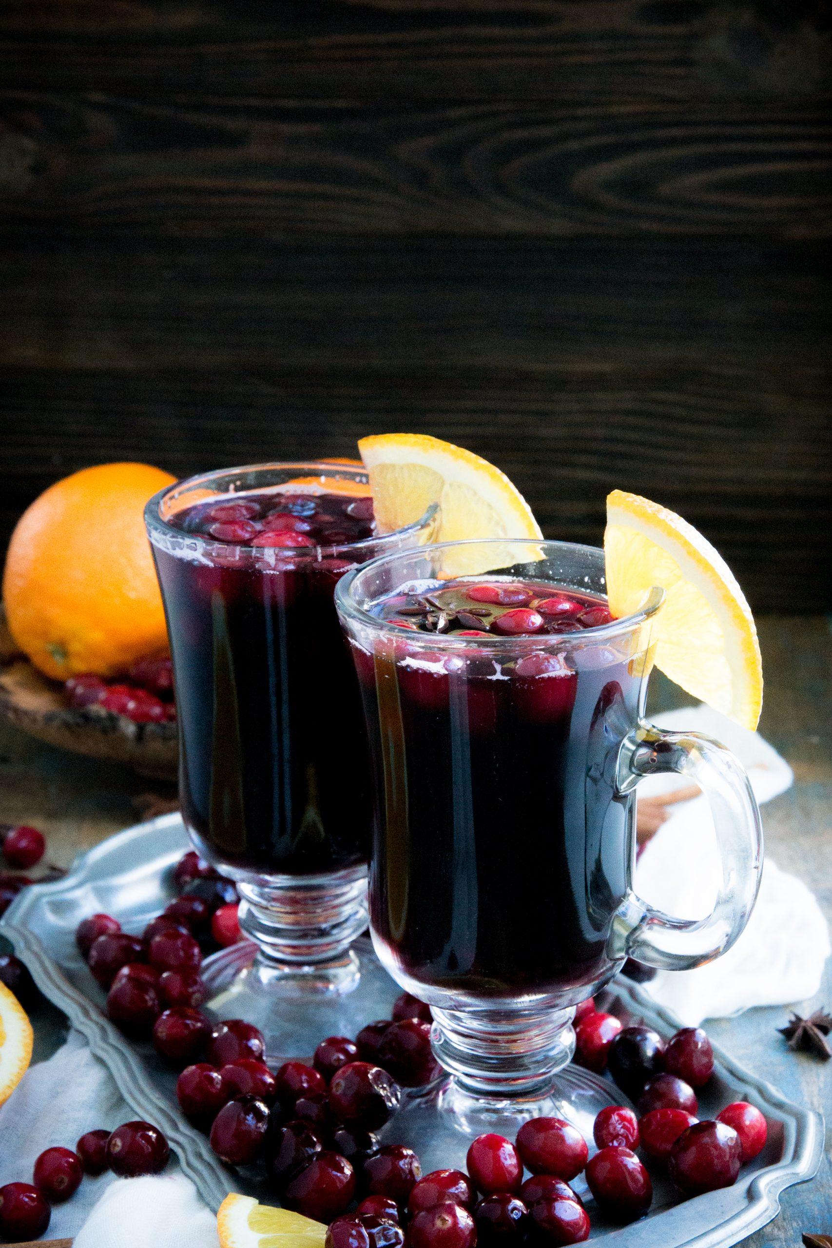 Low-Carb Cranberry Mulled Wine.