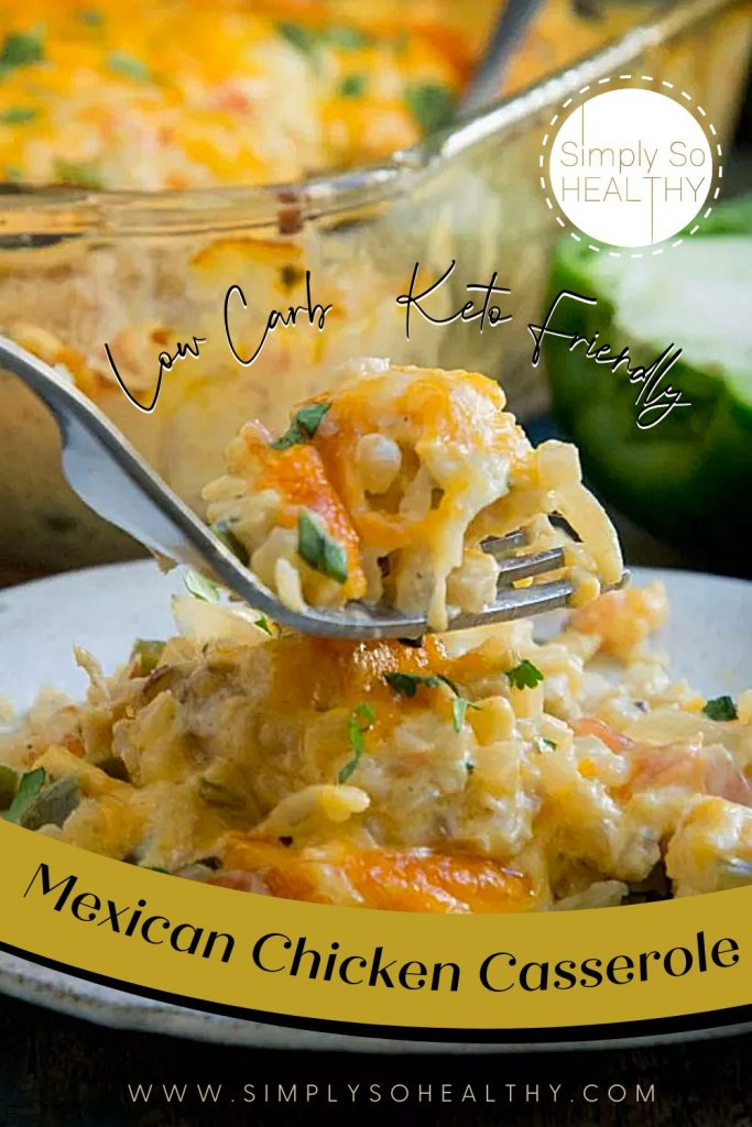 Low-Carb Mexican Chicken Casserole