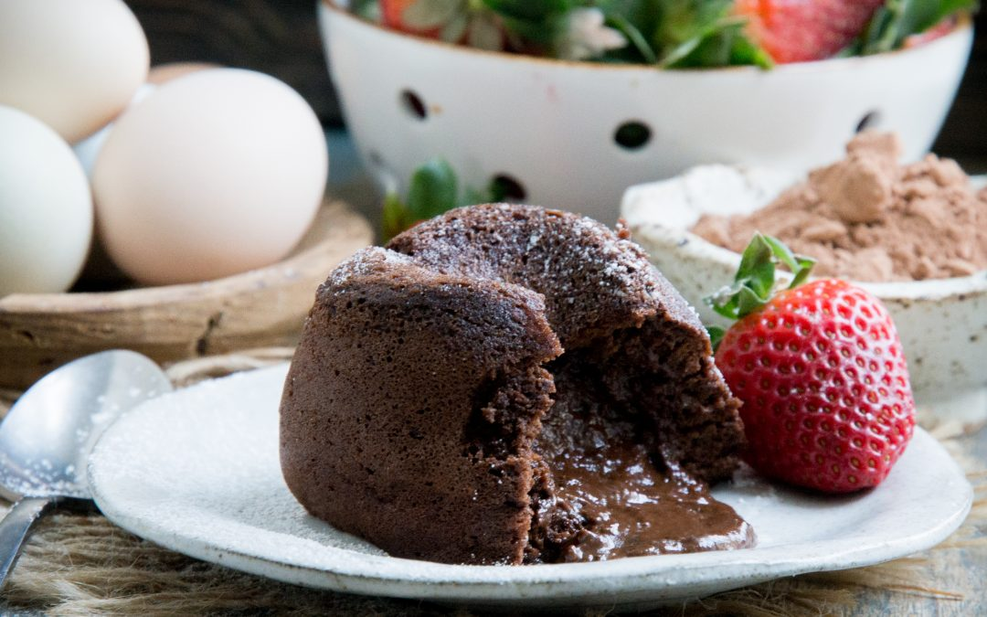 Low-Carb Chocolate Lava Cakes (Keto-Friendly)