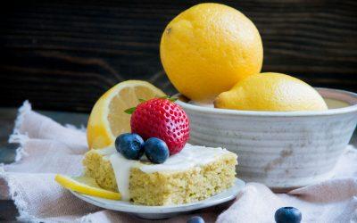 Keto Lemon Cake