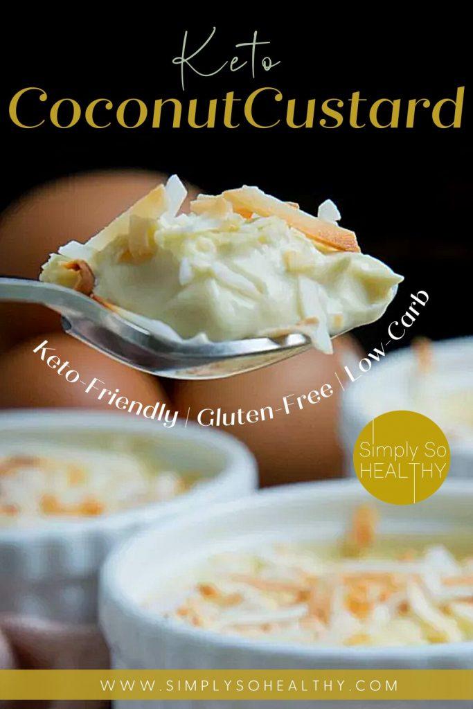 Keto Coconut Custard recipe
