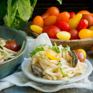 Hearts of Palm Pasta Salad (Keto)