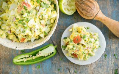 Avocado Egg Salad (Keto | Low Carb)