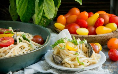 Hearts of Palm Pasta Salad (Keto Friendly | Low Carb)