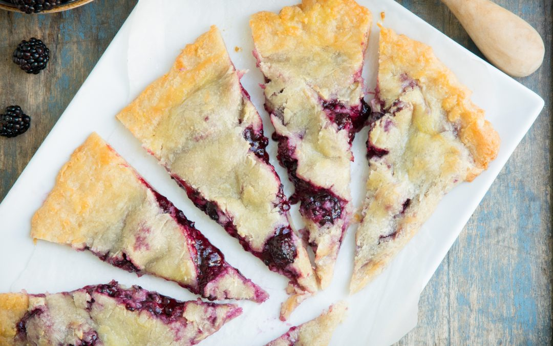 Keto Blackberry Pie (Low Carb)