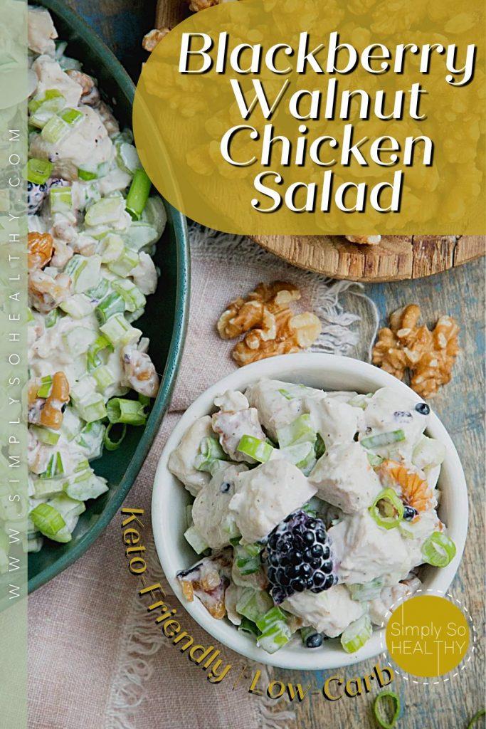 Blackberry Walnut Chicken Salad recipe